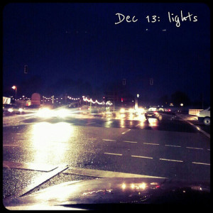 Dec 13: lights .. #traffic in #Berlin #fmsphotoaday #lights
