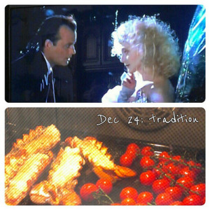 Dec 24: tradition .. Scrooged and yummy food .. #fmsphotoaday #food #christmas
