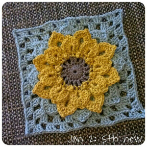 Jan 2: something new .. my very first granny square ever .. #fmsphotoaday #crochet