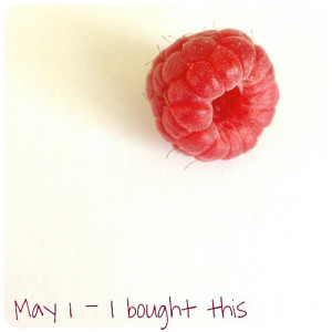 May 1: I bought this .. #raspberry .. #fmsphotoaday